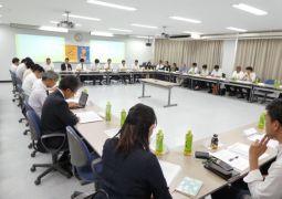 8月25日 夏季会長会が行われました。