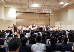 音楽鑑賞会が開催されました