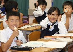 10月18日(木)国語科「世界でいちばんやかましい音」(4年生)