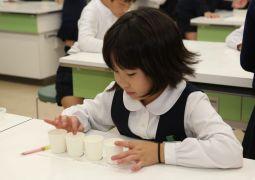 11月22日(木)家庭科「おいしく食べて元気に!」(5年生)