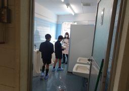 平成30年12月7日(金) PTA役員さんと合同での親子清掃