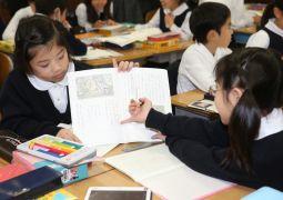 12月6日(木)国語科「読書会をしよう」(3年生)