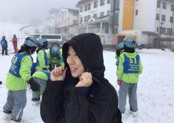 スキー合宿①
