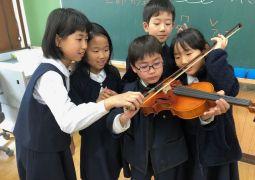 バイオリン体験♪