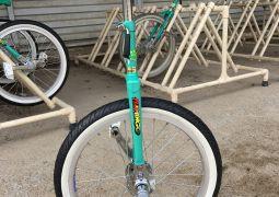 ベルマークで一輪車を購入