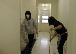 平成31年3月12日(火)『卒業式前のトイレ清掃と今年度反省会』