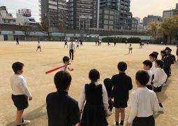 3年生との放課後野球