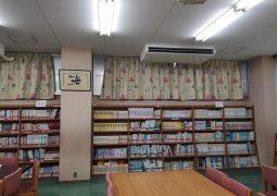 図書室が明るくなりました