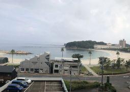 白浜臨海学舎(20)朝食前