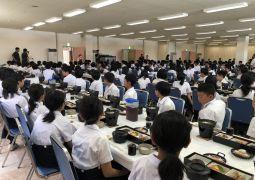 白浜臨海学舎(23)4日目昼食