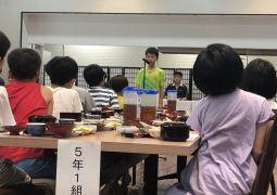 白浜臨海学舎(21)朝食