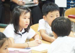 9月19日(木)2年道徳科「きまりのない学校」