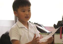 9月27日(金)2年国語科「お気に入りのお話を紹介しよう」