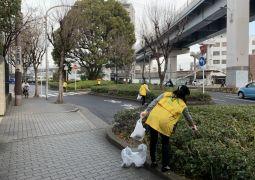 地域清掃活動 2020.2.13