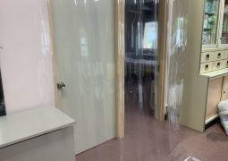 コロナウイルス飛沫感染防止シールド設置(保健室)