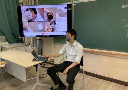 google-classroom-meet試行中