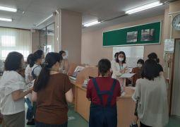 図書委員会体験活動の最終日