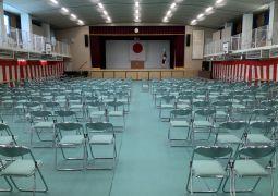 明日(6日)の入学式についてのお願い
