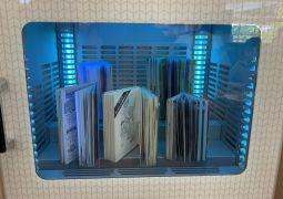 書籍除菌機を導入しました