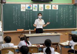 実習の先生の授業②(道徳)
