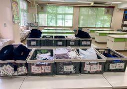 活動報告☆リユース品のサイズ仕分け(9月28日)
