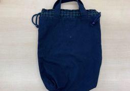 布袋(紺色)