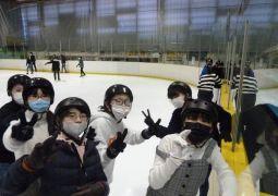6年生 スケート教室