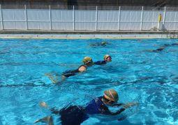 水泳学習がんばっています!