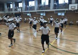 ダンス&漢字の1日